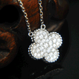 Four-Leave Clover Pendant Fashion Jewelry Necklace