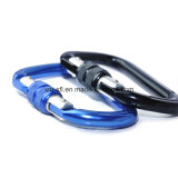 D-Shaped Screwlock Outdoor Gear Rock Climbing Safety Carabiner (C13)
