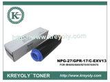 Black Copier Toner Cartridge for Canon GPR-17/NPG 27/C-EXV 13