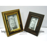 Wooden Antique Photo Frame with Silk-Screen for Home Decoration