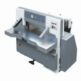 Microcomputer Single Hydraulic Double Guide Paper Cutter (guillotine)
