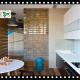 Decorative Clear & Colored Glass Block for Wall