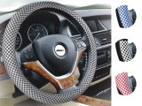 Auto Interior Accessories D Shape Leather Car Steering Wheel Cover