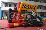 F1 Racing Track Inflatable Bouncer with Slide