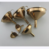 Different Sizes Stainless Steel Funnel, 6PCS Set Metal Funnel
