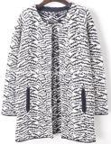 Women Fashion Luxury Fair Isle Long Sweater (X-246)