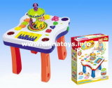 Educational Plastic Toys Music Table Carrousel Baby Toy (0646155)
