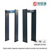 High-Decibel Multi-Zone Alarm 200 Level Digital Metal Detector for Warehouses
