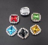 Premium Quality Point Back Fancy Stones with Clamp for Clothes Decoration