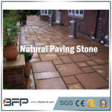 Natural Grey / Red / Yellow Granite Cobble Paving Stone for Garden Landscape Pavers
