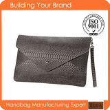 High Quality Fashion Wholesale Crocodile Women Clutch Bag