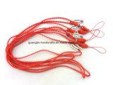 Cheap Plastic Promotional Wholesale Zipper Lanyards