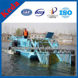 Water Hyacinth Salvage Cutting Ship