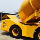3 Cubic Meter Diesel Mobile Self-Loading Cement Truck Mixer for Sale