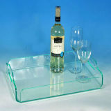 2017 Newst Design OEM Clear Acrylic Serving Tray (A001)