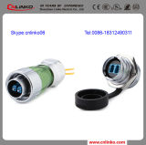 3years Warranty Metal IP67 Waterproof Fiber Optic Connectors