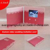 2016 Newest Custom Video Invitation Card for Wedding