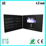 "4.3""HD Screen Video Custom Greeting Card for Best Sale"