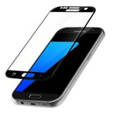 for Samsung Galaxy S7 Sm-G930f Tempered Glass Screen Protector Black 3D Full Curved