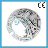 Ge 10 Lead EKG Wires with Snap Type