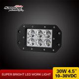 "4.5"" 30watt CE RoHS LED Work Light with IP67"