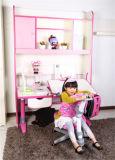 Green Material Kids Adjustable Table MDF Children Furniture
