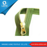 Large Size Metal Zipper with Slider