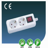 10A/13A EU Electric Switch Power Outlet Two Ways Socket