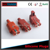 250V Ce and RoHS Approved Silicon Rubber Plug for European Market (GJW-6)