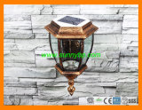 Europe Style Garden Wall Lamp with Solar Power