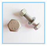 DIN933 Carbon Steel 8.8 Grade Hex Bolt with HDG