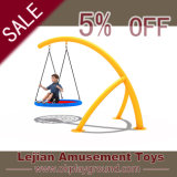 Ce Proved Outdoor Kid Amusement Swing Equipment for School (QQ1501-5)