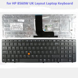 Wholesale Laptop Keyboard for HP Elitebook 8560W Series Laptop PC