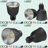 CE & RoHS Certificate 6W LED Spotlight GU10 Dimmable Light