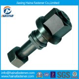 Black Customzied Auto Fastener with Hex Nut and Washer