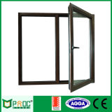 Aluminum Casement Window with Side Fixed Panel