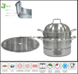 All Clad Steel Stockpot Set Kitchenware Cookware