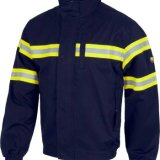 Good Quality Work Uniform Jacket with Reflective Tape, High Visibility Workwear (UF233W)