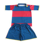Blue White Mix Colored Rugby T Shirt for Your Club