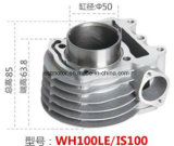 Motorcycle Accessory Motorcycle Cylinder for Wh100le/Is100/Gcc100/Activa