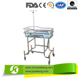 Stainless Steel Frame Metal Baby Hospital Bed for Sale (CE/FDA/ISO)