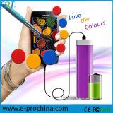 2600mAh Portable Lipstick Power Bank for Mobile (EB001)