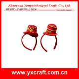 Christmas Decoration (ZY16Y227-1-2 21CM) Merry Christmas Party Hat Gift Items