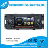 Car DVD Player for Jeep Grand Cherokee/ Chrysler /Jeep Wrangler with Built-in GPS Dual Zone Digital Panel RDS Steering Wheel (TID-6015)