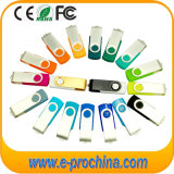 Cheapest Plastic USB with Metal Clip Swivel USB Memory Stick