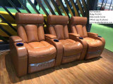 Home Theater, Cinema Recliner Leather Sofa Chair, Project Furniture (G17320)