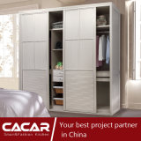 Prague Elegant Modern Style Bedroom Wardrobe with PVC Door (CA01-02)
