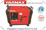 Yarmax Diesel Electric Generator Set 7kVA 7000W with Yarmax Diesel Engine Soundproof Stock Price