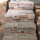 China Natural Yellow Rusty Slate Stone Veneers (SMC-SCP370)