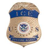 Metal Ice Police Lepal Pin Badge